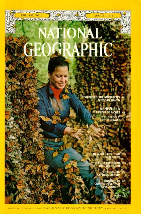 Catalina Trail, then known as Cathy Aguado, was the woman on the cover of National Geographic in 1976
