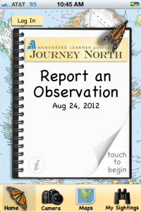 Journey North's Migration App