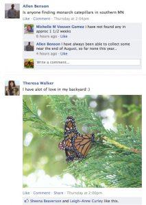 Monarch Watch on Facebook