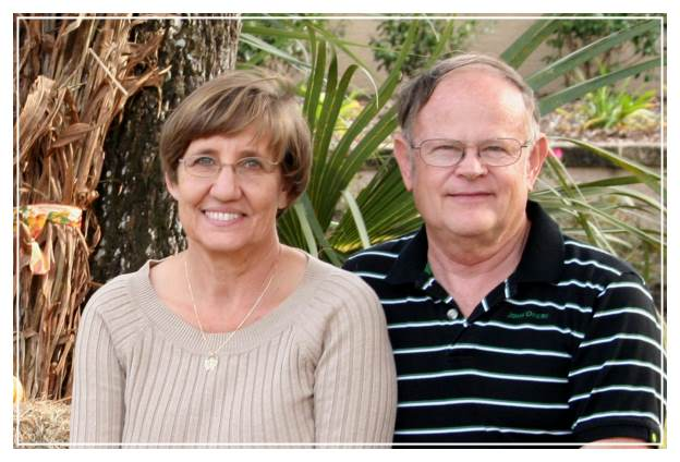 Edith Smith and her husband Stephen, who's career as a pharmacist and science background greatly assisted the development of their Shady Oak Butterfly Farm.  --Courtesy photo