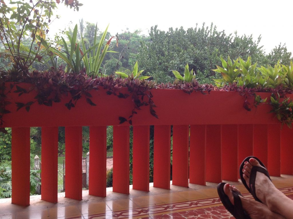 Porch of Finca Monte Carlo