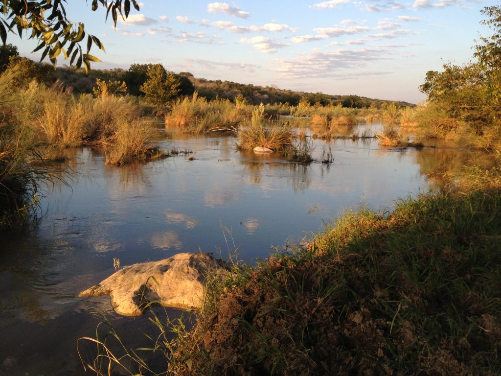 Llano River, October 2013