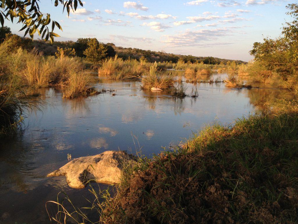 Llano River, October 2013