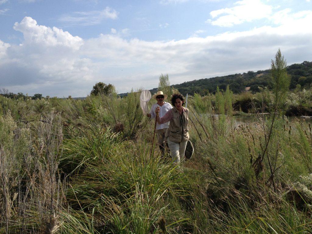 Omar and Veronica on the Llano