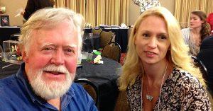 Chip Taylor and Kathy Marshburn