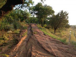 Rain dump means road repairs needed