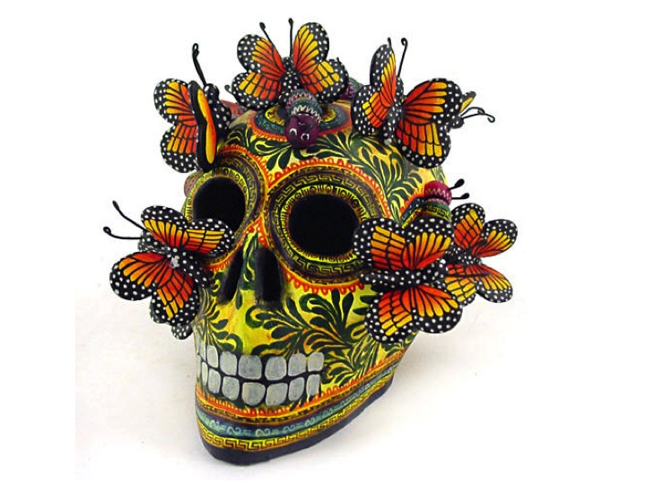 day of dead mask