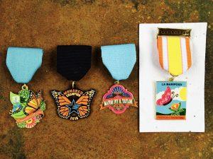 Mariposa fiesta medals