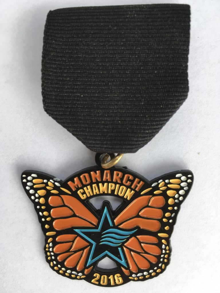 The San Antonio River Authority's Fiesta medal
