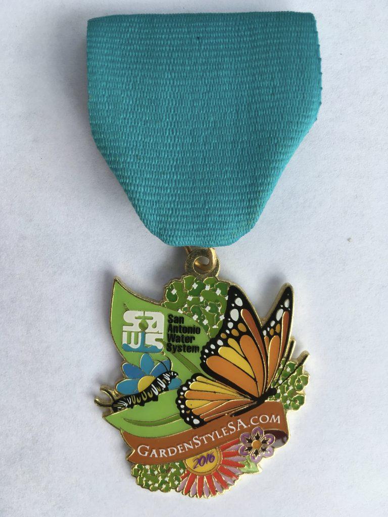 SAWS 2016 Fiesta medal