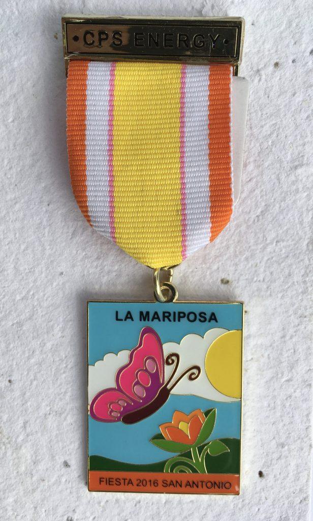 CPS Energy's 2016 Fiesta medal