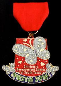 Children Bereavement Center's Fiesta 2016 medal --courtesy photo
